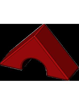Треугольник с вырезом детский