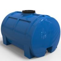 Пластиковая емкость для воды 100 л горизонтальная