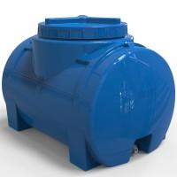Пластиковая емкость для воды горизонтальная 100 л стандартная