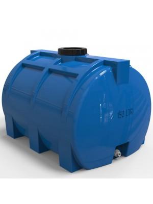 Пластикова ємність для води горизонтальна 150 л