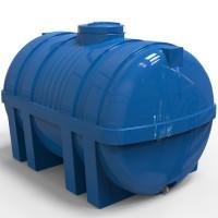 Емкость для воды пластиковая горизонтальная 5000 л стандартная