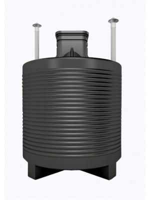 Герметичный пластиковый погреб 5м3