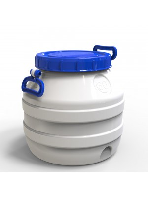 Бидон пластиковый пищевой средний 30 л