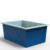 Пластиковый контейнер прямоугольный 500 литров