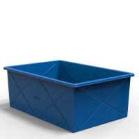 Большой промышленный пластиковый контейнер 1500 литров