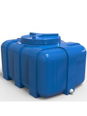 Бак для воды прямоугольный 100 литров Овал
