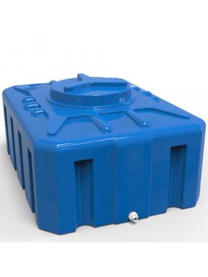 Душевой бак 200 литров квадратный.  Прямоугольник