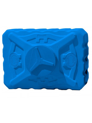 Емкость квадратная 300 л трёхслойная синяя