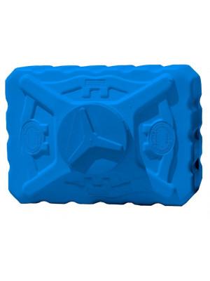 Емкость квадратная 500 л трёхслойная синяя