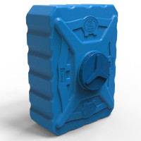 Бак для воды 300 литров трёхслойный синий