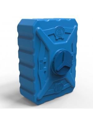 Емкость для летнего душа 300 л трёхслойная синяя