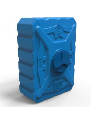 Бак для душа квадратный 500 л трёхслойный синий