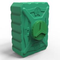 Пластиковая емкость квадратная 200 л трёхслойная