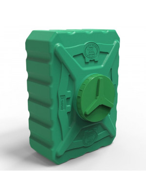 Пластиковая емкость для летнего душа 200 литров трёхслойная