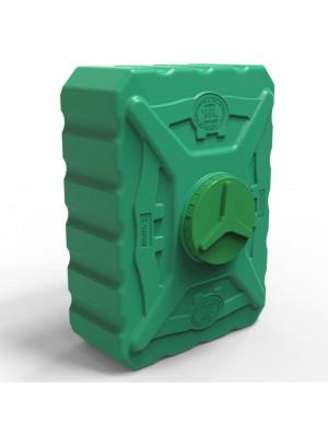 Бочка пластиковая квадратная 300 л трёхслойная