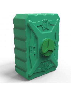 Бак на летний душ 500 литров квадратный трёхслойный