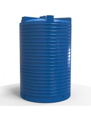Збірна ємність для води пластикова вертикальна 15000 л стандартна