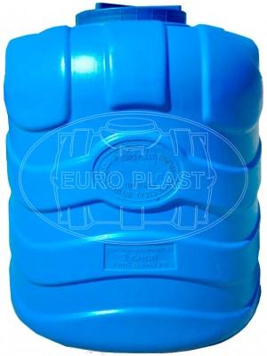 Емкость вертикальная трехслойная синяя 1000 л