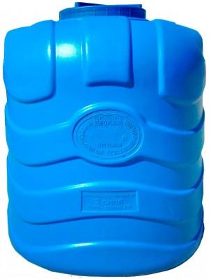 Емкость вертикальная трехслойная синяя 750 л