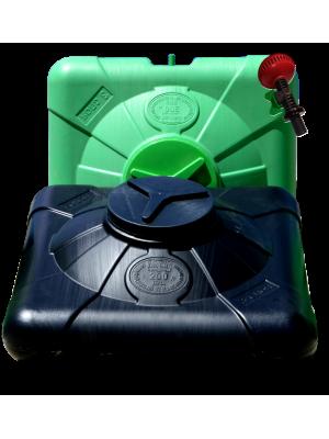 Бак для летнего душа плоский 200 литров трехслойный
