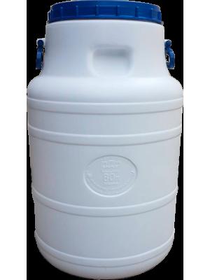 Бидон пластиковый пищевой 80 л