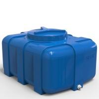 Емкость для летнего душа 150 литров прямоугольная Овал