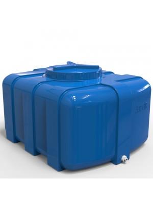 Емкость пластиковая прямоугольная 200 л Овал