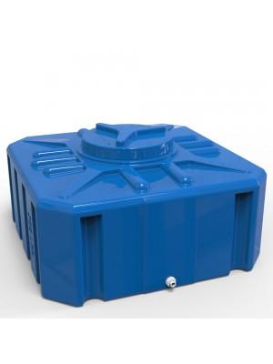 Емкость для летнего душа квадратная 300 л. куб