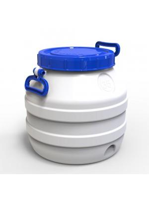 Бидон 35 л пластиковый пищевой средний