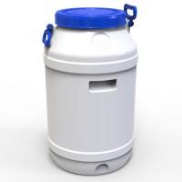 Бидон пластиковый пищевой 65 л