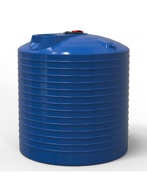 Емкость 10000 л вертикальная пластиковая две горловины