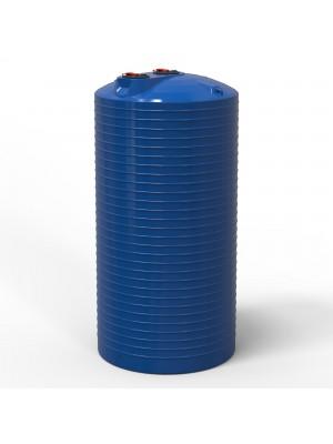 Емкость для воды вертикальная 20000 л две горловины
