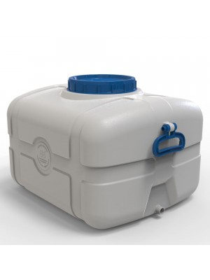 Пластиковая емкость пищевая 85 л (прямоугольная)